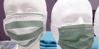 La mascarilla que cambia de color si tienes fiebre llegará a los colegios valencianos