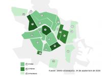 MAPA DEL CORONAVIRUS | Estos son barrios más afectados de Valencia