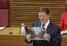 Ximo Puig en el Debate de Política General celebrado en Les Corts Valencianes.
