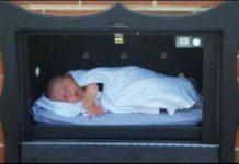 buzón para abandonar bebés