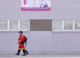 Los militares se preparan para iniciar las tareas de rastreo en Valencia