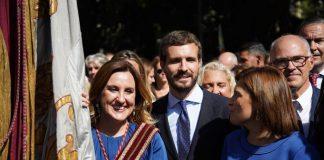 Pablo Casado visitará Valencia para participar en el acto del 9 d'Octubre