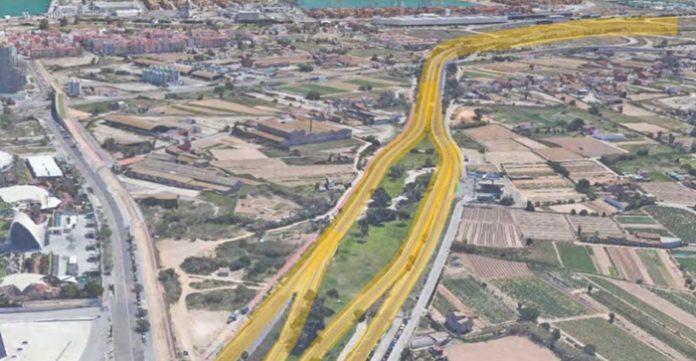 reasfaltará autovía El Saler