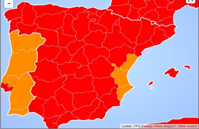 lista roja coronavirus