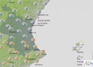 lluvias y bajada de temperaturas durante la semana que viene