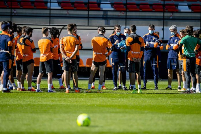 Valencia contra el Villarreal CF