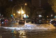 Valencia arranca el fin de semana con una decena de carreteras cortadas por el temporal