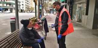 Valencia abre un albergue para personas sin hogar para protegerlas del coronavirus
