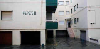 Valencia vive el segundo episodio de lluvias más fuerte de la historia
