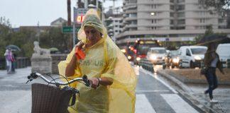 Nivel de alerta amarilla en Valencia por riesgo de tormentas