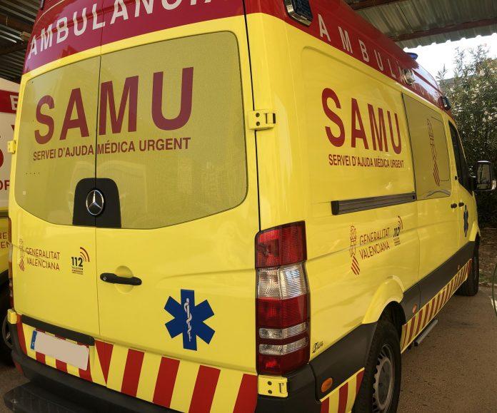 Tres accidentes de tráfico en Valencia dejan a tres jóvenes heridos