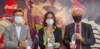 Maratón Valencia y Coca-Cola se unen por el reciclaje con unas botellas únicas