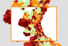 CORONAVIRUS | Los 30 municipios más peligrosos de la Comunitat en el arranque de año