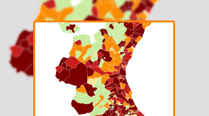 Los 100 municipios valencianos más seguros para aislarse del coronavirus
