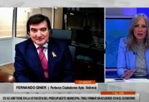 """Fernando Giner sobre Presupuestos: """"No hemos dicho que no para que el dinero vaya al bolsillo de los ciudadanos"""""""
