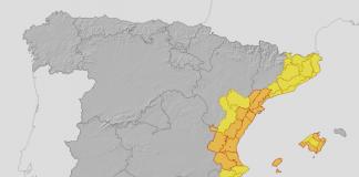 La DANA activa los niveles de alerta en toda la Comunitat Valenciana