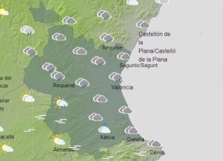 un temporal dejará fuertes lluvias