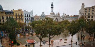 temporal en Valencia