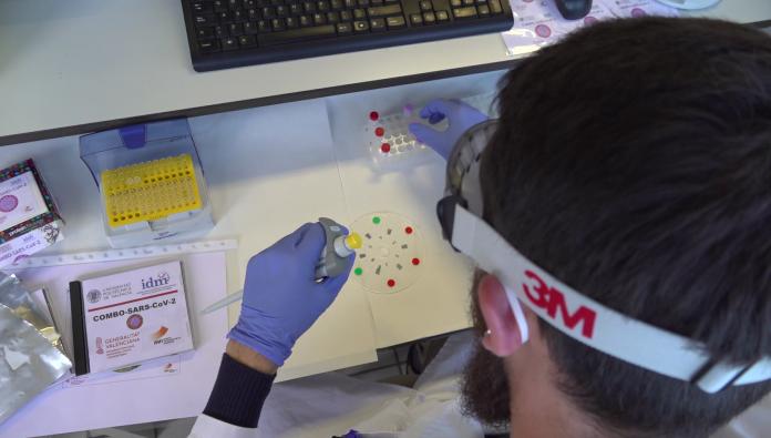 Un nuevo test valenciano detecta coronavirus en 30 minutos por 2€