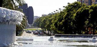 Una ola de frío llega a Valencia con desplome de temperaturas