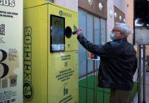Valencia premiará a los ciudadanos que reciclen latas y botellas de plástico