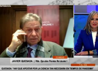 """Javier Quesada: """"Investigación y empresa se necesitan más que nunca para acabar con la pandemia"""""""