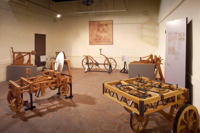 exposición Da Vinci