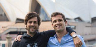 Goiko Llobet y Pablo Gil, fudadores de Grow Pro Experience, en Sídney.