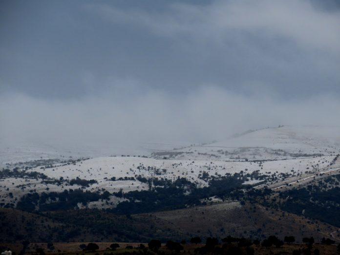 primera nevada de la Comunitat Valenciana
