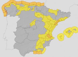 Valencia recibirá una borrasca convertida en ciclogénesis explosiva