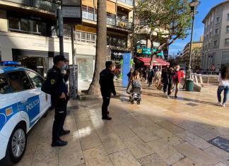 Tres detenidas ante la oleada de robos en el centro de Valencia