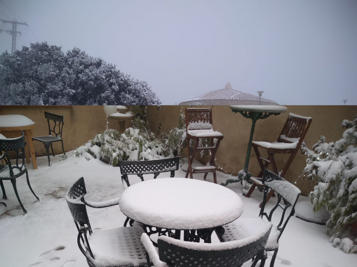 FOTOS | La nieve tiñe de blanco la Comunitat Valenciana
