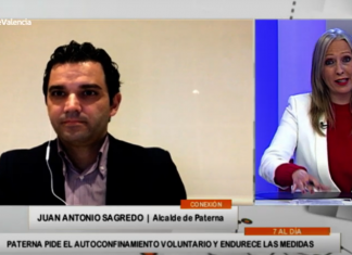 """El alcalde de Paterna reconoce que las próximas semanas serán """"lo peor de la pandemia"""""""