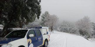 Casi la mitad de la provincia de Castellón y un tercio de la de Valencia siguen cubiertas por la nieve