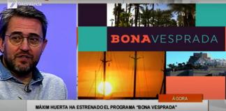 """Màxim Huerta: """"'Bona Vesprada' es un programa de largo recorrido que cada día gustará más"""""""