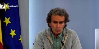 """Fernando Simón: """"La Comunitat Valenciana está en una situación muy crítica"""""""
