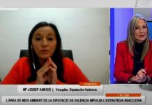 """Maria Josep Amigó: """"Las ayudas Reacciona son vitales para los municipios valencianos"""""""