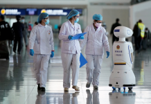 Crean un robot valenciano que desinfecta y renueva el aire para crear espacios libre de COVID
