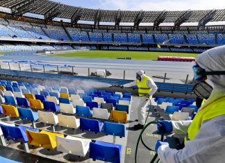 Los estadios de fútbol podrían convertirse en centros masivos de vacunación