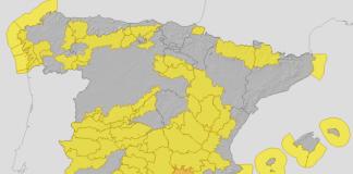 La Comunitat Valenciana entra en alerta por riesgo de viento y oleaje