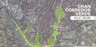 Un corredor verde conectará el centro de Valencia con los barrios del sur