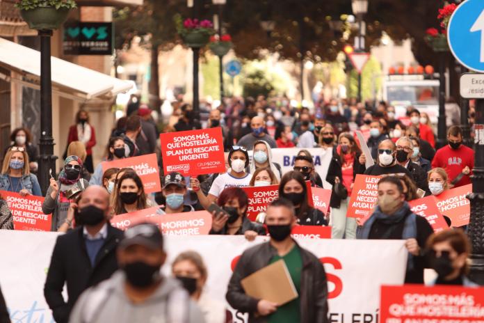 La hostelería de Castellón abrirá el 16 de febrero como señal de protesta