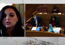 """Sandra Gómez: """"De las peores cosas que está dejando la pandemia es la falta de lealtad"""""""