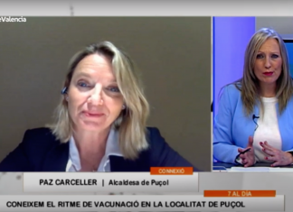 """Paz Carceller: """"El ritmo de vacunación en Puçol va con importante retraso"""""""