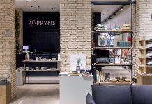 Interior de la tienda Poppyns en Valencia. / Alicia Macias