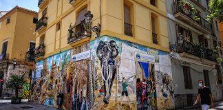 Una ruta por los grafitis más originales de Valencia
