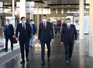 Pedro Sánchez inaugura el nuevo AVE que conecta Madrid con la Comunitat Valenciana
