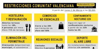 La Generalitat reabre las terrazas y amplía los horarios comerciales