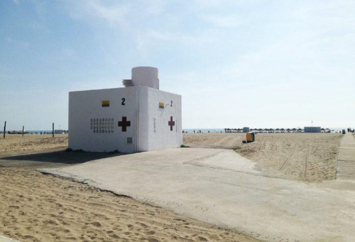 factores de riesgo pandemia, playa de Valencia
