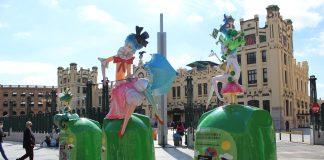 Valencia planta siete Fallas en la ciudad